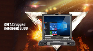GETAC rugged notebook B300
